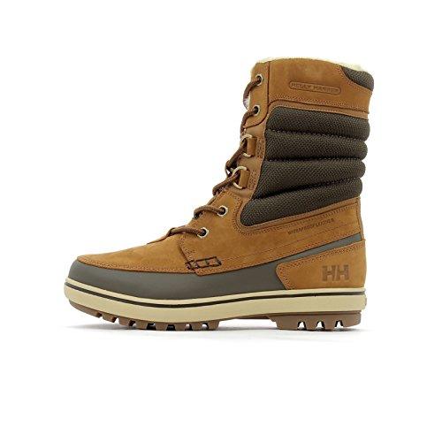 Helly-Hansen Men's Cold Weather Garibaldi 2 Winter Snow Boots, Whiskey/Espresso/Sperry, 12