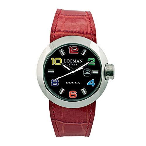 Locman Italy Reloj Mujer Donna Rojo Ref. 0421