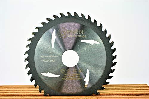 Hartmetall Allesschneideblatt Sägeblatt 110mm Bohrung:20mm 40 Zähne TCT Aluminium Kupfer Holz Ne metalle Trennscheibe