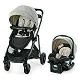 Graco Modes Element LX Travel System | Includes Baby Stroller with Reversible Seat, Extra Storage, Child Tray, One Hand Fold and SnugRide 35 Lite LX Infant Car Seat, Lynwood