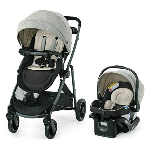 Lowest Prices! Graco Modes Element LX Travel System | Includes Baby Stroller with Reversible Seat, E...