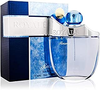 Rasasi Perfume  - Rasasi Royal Blue by Rasasi - perfume for men - Eau De Parfum, 75ml