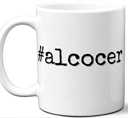 alcocer Alcocer Last Name Gift. Cool Surname Mug. Unique Personalized Tea Cup Stamp Sign Family Reunion Men Women Birthday Mothers Day Fathers Day Christmas Coworker.