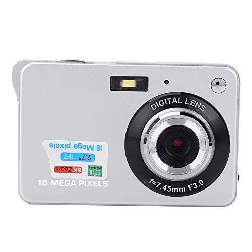 "Topiky Mini cámara Digital, portátil 8X Zoom 1080P HD 2.7""Pantalla LCD 18MP 30fps Cámara de Video con micrófono, Regalo para Adolescentes/niños/Principiantes/Adultos"