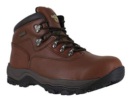 Inuvik Chaussures de marche/randonnée à lacets pour l'hiver Pour homme - Marron -