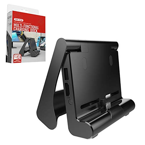 Switch TV Dock para Nintendo Switch, Base de Carga para Nintendo Switch / Lite, con Puerto Tipo C y disipación de Calor, convertidor de Video HDMI para Nintend Switch