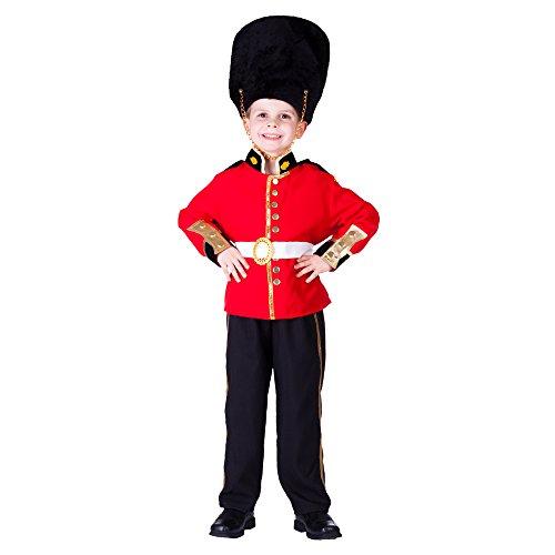 Dress Up America De Royal Guard Disfraz Set para niños