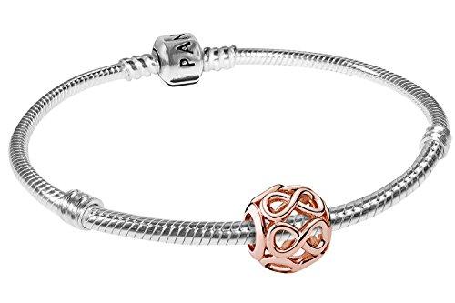 Pandora, bracciale Starter con simbolo dell'infinito, articolo n. 08324 e Argento, colore: multicolore, cod. 08324-18