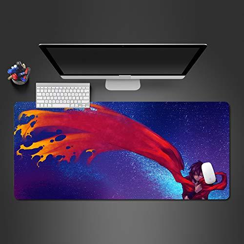 Heißes kühles Qualitätsmausunterlage der Farbenanimation Qualitätsgummiauflage große nähende Laptopauflage 600X300X2MM