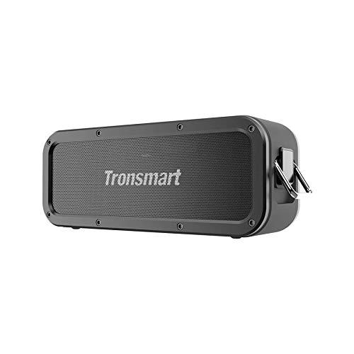 Altavoz Bluetooth Potente, Tronsmart Force 40W Altavoz inalámbrico Portátil, Waterproof IPX7, Efecto de Triple Bajo, Doble Driver, 15 Hora de Reproducción, TWS/NFC, Asistente de Voz para Viaje, Fie