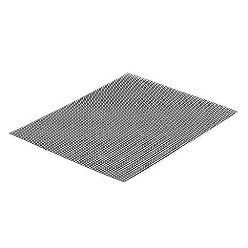 bobo4818 Grill Pad Mat Teflon Antihaft Mesh Net Grill Grillen Backmatte Wiederverwendbar Leicht zu Reinigen 40 x 33 cm, ideal für BBQ und Backen (Schwarz)
