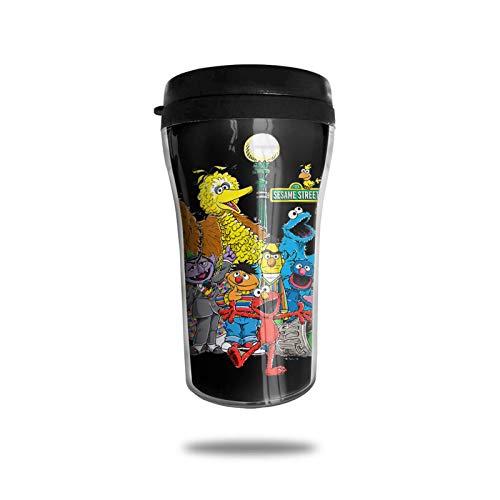 Taza de viaje AOOEDM Coffee cup Barrio Sésamo Squadtravel Coffee