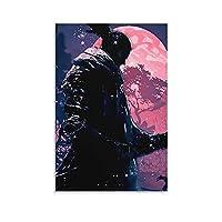 ゲームポスターSekiroShadows DieTwiceポスターデコレーションペインティングキャンバスアート壁デコレーションリビングルーム壁画寝室ルームデコレーション写真08×12inch(20×30cm)
