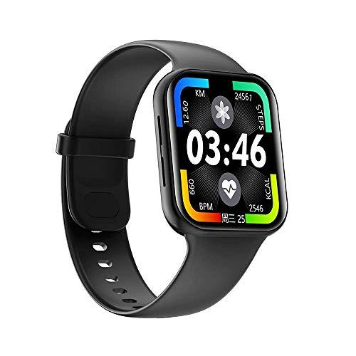 OH Pulsera Inteligente Ip67 Impermeable Impermeable 1.54 Pulgadas Llamada Multi-Idioma Reloj Bluetooth para Hombres Y Mujeres clásico/Negro