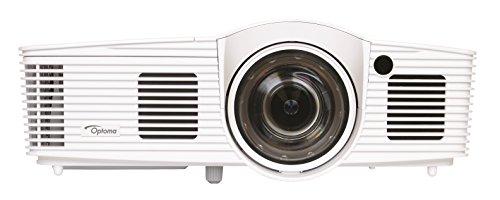 OPTOMA TechnoLOGY GT1080Darbee - Proyector Home Cinema Full HD 1080p, Lente Corta, 3000 lúmenes, 28000:1 Contraste, Formato 16:9, Blanco