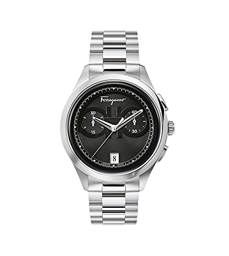 Salvatore Ferragamo Ferragamo Racing - Reloj de pulsera para hombre con cronógrafo, 42 mm SFYI00321