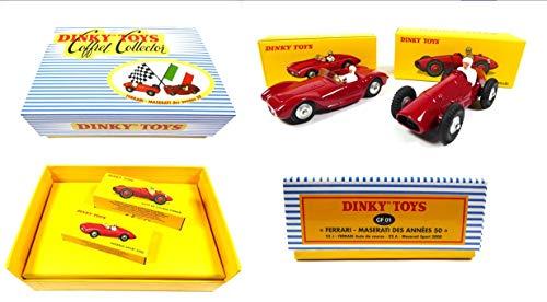 OPO 10 - Atlas Dinky Toys - Ferrari Maserati Zwei-Wagen-Sammelbox 50er Jahre CF01 1:43 (MB100)