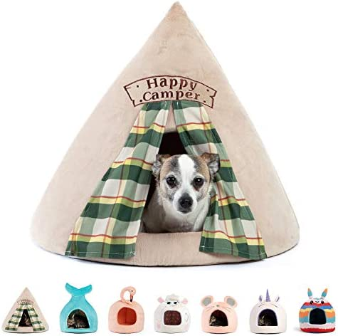 Best Friends by Sheri Novelty Pet Hut in Happy Camper Wheat 360 Degree Coverage for Comfort product image