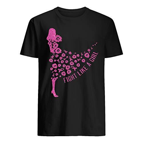 Leet Group - Camiseta de concienciación sobre el cáncer de mama de girasol