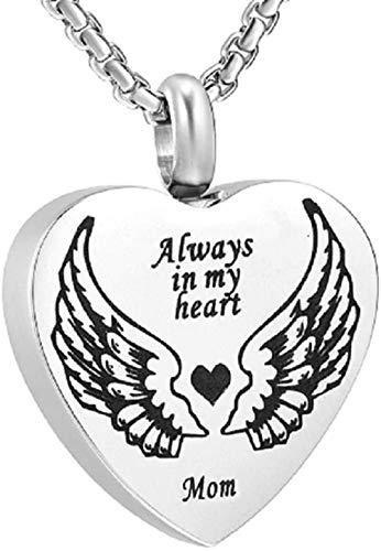 Jewelry Gift For Womenjoyas Para Hombres Cruz Con Estampado De Pata De Perro / Gato Acero Inoxidable Cenizas Para Mascotas Recuerdo Urna Conmemorativa Joyas Collar De Cremación Para Amantes De La