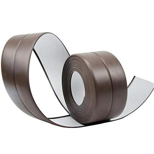 Keuken Badkamer Douchebak Bad Afdichtstrip Tape PVC Zelfklevend Waterdicht Muursticker Anti-schimmel Vuilafstotende Strips, Bruin, 22mm