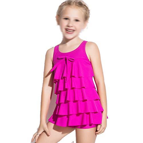 GCX- Meisjes Badmode Leuke Peuter rokje prinses zwembroek meisje zwempak uit één stuk Mode (Color : Pink, Size : 10)