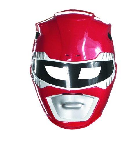 Maschera Power Rangers rossa da bambino