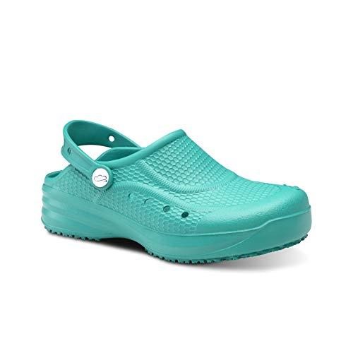 Feliz Caminar - Zueco Sanitario Flotantes Evolution Verde, 39