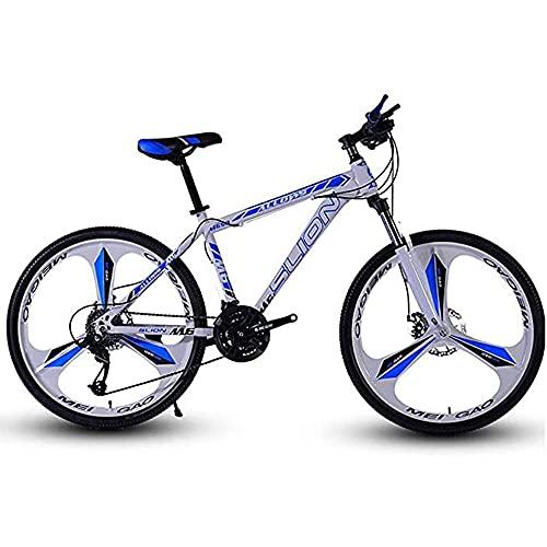 Bicicleta de montaña, 21/24/27/bicicleta opcional de velocidad variable, para hombres, mujeres, adultos, jóvenes, bicicleta de montaña todo terreno, viajes en bicicleta por la ciudad al aire libre