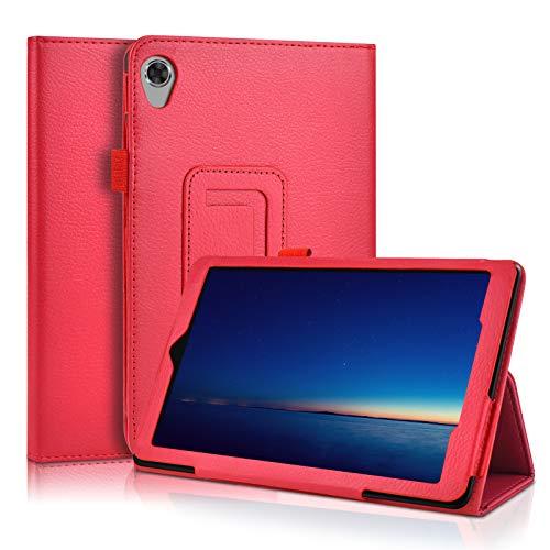 KATUMO Funda Libro para Lenovo Tab M8 HD TB-8505F Funda Cuero con Porta Lapiz Cover Lenovo Tablet M8 8 Pulgadas