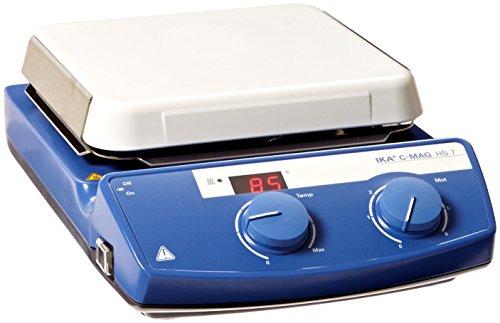 IKA Works INC. 3581201 C-MAG HS 7 IKAMAG Hot Plate Magnetic Stirrer, Glass Ceramics Heating Plate, 115V