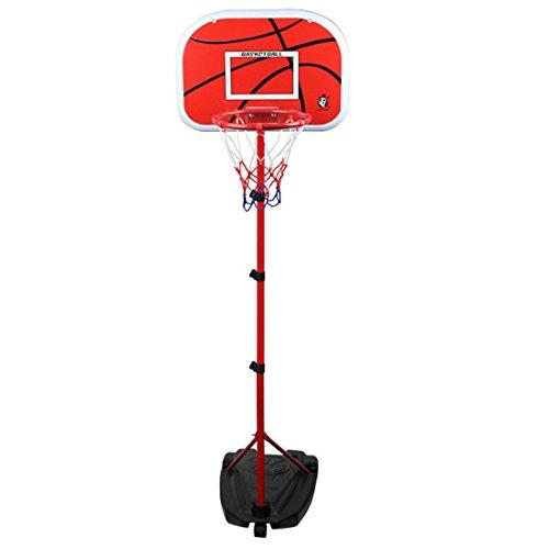 TONGJI 1.05-2m Basketballkorb Kinder Einstellbare Basketballständer Für Drinnen Und Draußen 3-12 Jahre