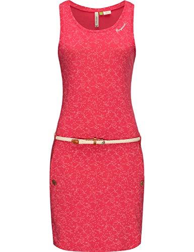 Ragwear Damen Kleid Dress Viskosekleid Jerseykleid Sommerkleid Freizeitkleid Kesy B Organic Rosa20 Gr. M