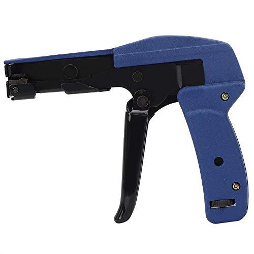 Kabelbinder Blau Chrom Vanadiumlegierter Stahl Nylonbinder Anziehen Und Schneiden Kabelbinder Klemmdraht Spannwerkzeug