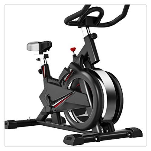 WNDRZ Bicicleta Estática para Perder Peso, Pedales De Bicicleta Giratoria, Equipo De Fitness para Interiores para El Hogar/Gimnasio, Entrenador Deportivo, Deportes En Bicicleta (Color : Black)