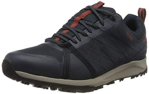 The North Face Mens Litewave Fastpack II WP, Zapato para Caminar para Hombre, Urban Navy, 44 EU