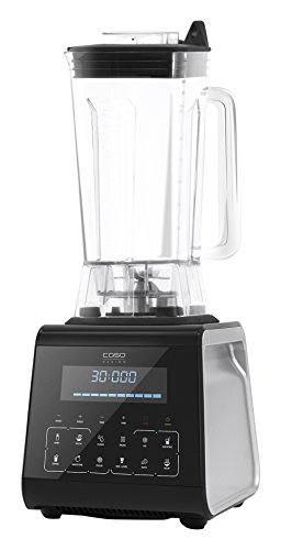 Caso B3000 Touch - High Speed Smoothie Blender, Design Standmixer, 1400 W, 4-faches Edelstahlmesser, Timer und Programmen