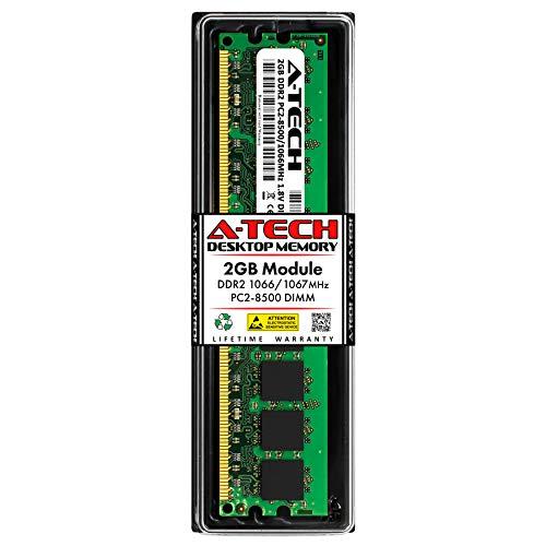A-Tech 2GB DDR2 1066MHz PC2-8500 240-pin DIMM Desktop Computer Memory RAM Module