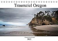 Traumziel Oregon (Tischkalender 2022 DIN A5 quer): Eine Reise zu den schoensten Landschaften Oregons (Monatskalender, 14 Seiten )