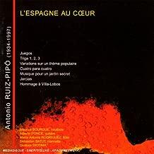 Ruiz-Pipo Antonio 1934-1997 'Juegos' For Flute Clarinet Violin Cello & Guitar / 'Triga' I
