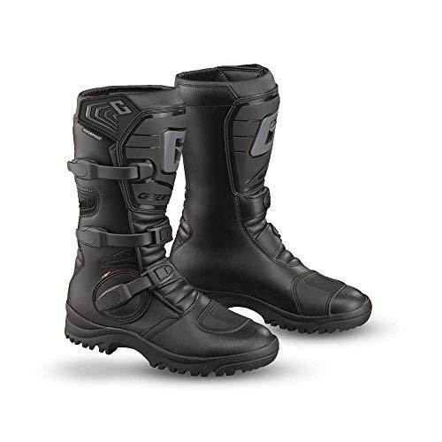 Gaerne 2525-001-43 G-Adventure Aquatech Erwachsene Stiefel, Schwarz, Größe 43