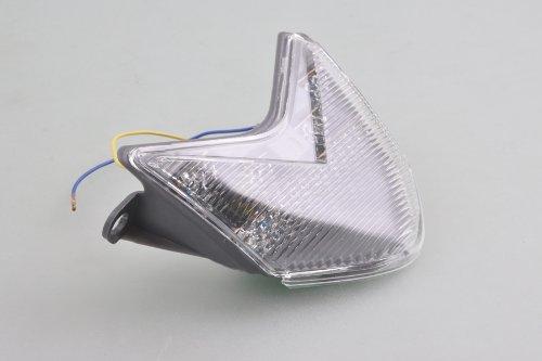 wotefusi Moto Clignotant Frein Tail Light pour Kawasaki Zx10R 2006 2007 06 07