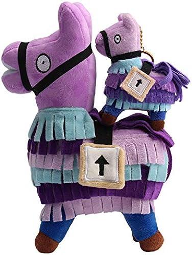 al precio mas bajo Juguetes De Felpa, Alpacas, muñecas, Caballos Arco Iris púrpura, púrpura, púrpura, Perímetro De Juego, Algodón PP, 4 Tamaños, 55 cm Un  precio razonable