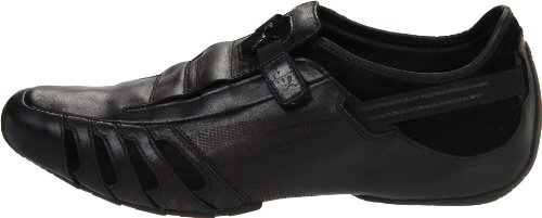 Vedano Leather Slip-On Shoe,Black