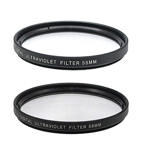 BIG MIKE'S ELECTRONICS 55mm and 58mm Multi-Coated UV Protective Filter