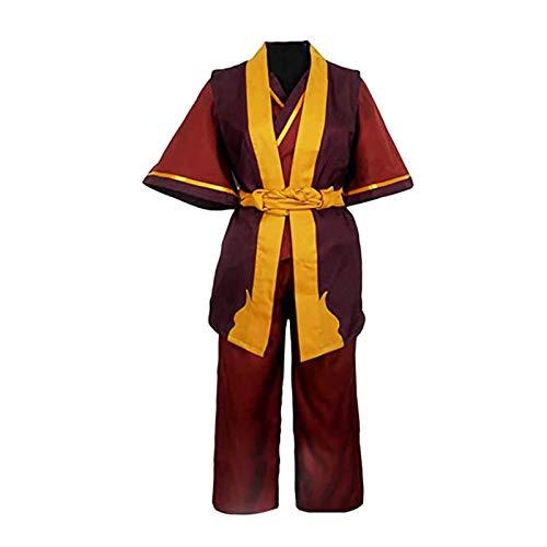 Avatar Der letzte Airbender Zuko Buch DREI Feuerprinz der Feuernation Outfit Cosplay Kostüm