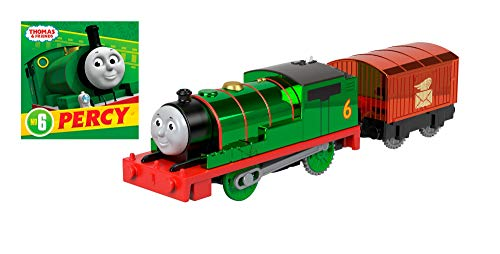Thomas & Friends Fisher-Price Celebration Percy Engine with Book