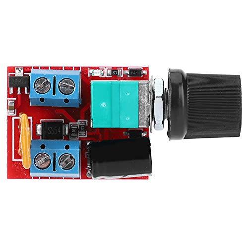 Regulador de motor, controlador de motor de CC, DC3V-35V 5A Mini controlador de motor de CC Controlador de velocidad PWM para interruptor de velocidad de atenuación LED Control de velocidad