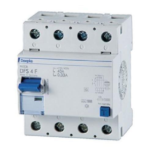 Preisvergleich Produktbild Doepke FI-Schalter DFS4 040-4 / 0, 03-F Fehlerstrom-Schutzschalter 4014712212329