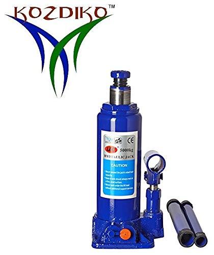 Kozdiko 5 Ton Hydraulic Bottle Vehicle Jack (5000 Kgs) Universal for All Cars
